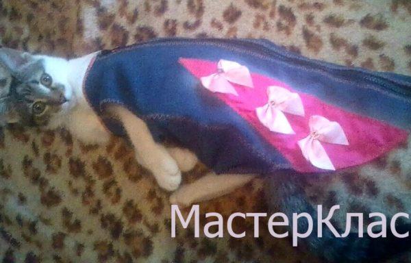 МК Джинсовый жилет